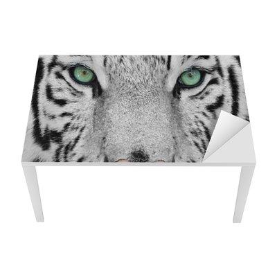 Sticker pour Table et Bureau White tiger