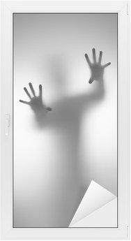 Sticker pour Vitres et Fenêtres Ghosts main