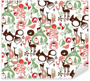 Pixerstick for All Surfaces Print repeated Christmas pattern
