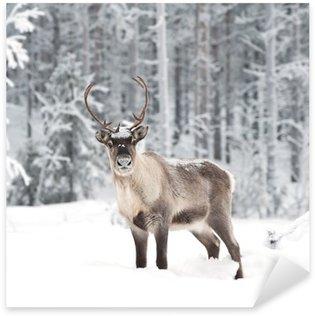 Sticker - Pixerstick reindeer
