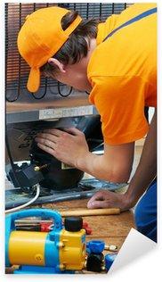 Pixerstick Sticker Reparatiewerkzaamheden aan koelkast apparaat