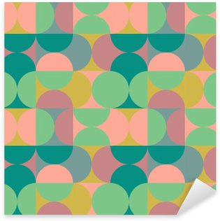 Pixerstick Sticker Retro patroon