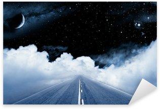 Sticker Pixerstick Road to the Galaxy