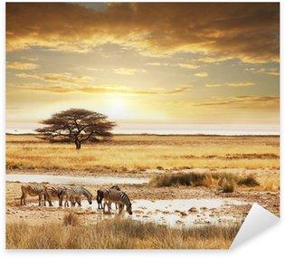 Sticker - Pixerstick Safari