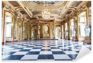 Sticker Pixerstick Salle des Ambassadeurs au Palais national de Queluz, Portugal