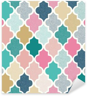 Sticker Pixerstick Sans soudure points de griffonnage de motif géométrique