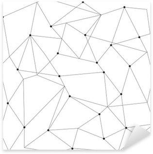 Sticker Pixerstick Scandinavian seamless moderne géométrique