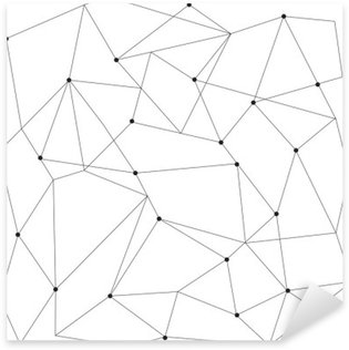 Pixerstick Sticker Scandinavisch geometrische modern naadloos patroon