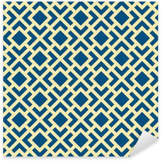 Sticker Pixerstick Seamless Abstract Geometric Art Déco Lattice Vector Motif