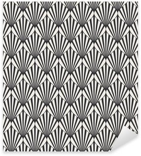 Sticker - Pixerstick seamless geometric pattern