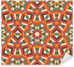 Sticker - Pixerstick Seamless mosaic pattern.