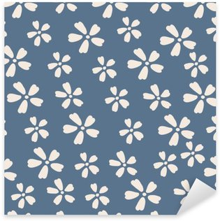 Seamless Pattern. flower Sticker - Pixerstick