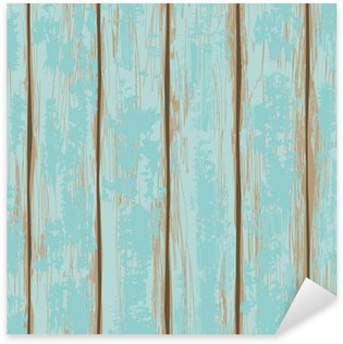 Sticker - Pixerstick Seamless pattern of wooden boards