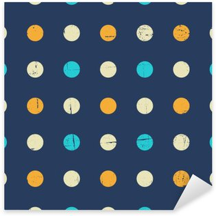 Sticker - Pixerstick Seamless Polka Dot Pattern