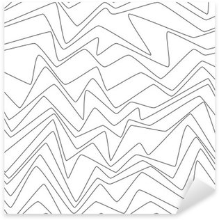 Sticker - Pixerstick Seamless Repeat Minimal lines abstract strpes paper textile fabric pattern