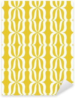 seamless vintage pattern Pixerstick Sticker