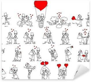 Pixerstick Sticker Set van trouwfoto's
