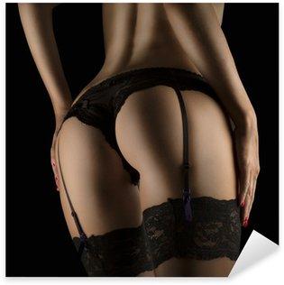sexy butt girls in underwear Sticker - Pixerstick