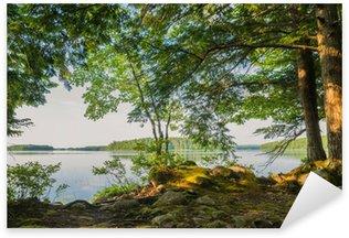 Shore of Lake Sticker - Pixerstick