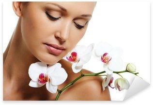 Skin treatment for beauty adult woman Sticker - Pixerstick