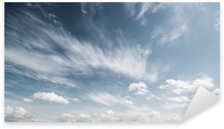 Sticker - Pixerstick Sky and clouds atmosphere background