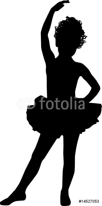 Sticker - Pixerstick small ballerina -