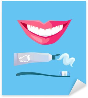 Smile with White Tooth