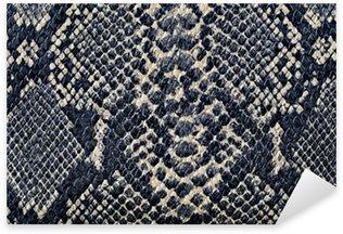 Pixerstick Sticker Snake huid achtergrond textuur
