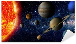 Sticker - Pixerstick Solar system