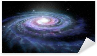 Spiral Galaxy Milky Way Sticker - Pixerstick