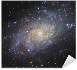 Sticker - Pixerstick Spiral Galaxy