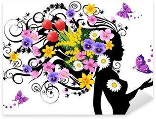 Spring fairy Sticker - Pixerstick