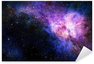 Sticker - Pixerstick starry deep outer space nebual and galaxy