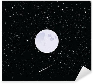 Starry Night Sticker - Pixerstick