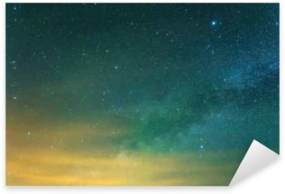 starry sky background Sticker - Pixerstick