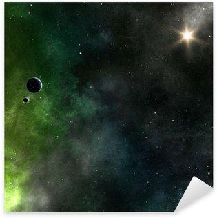stars nebula Sticker - Pixerstick