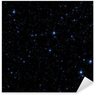 Stars on a dark background Sticker - Pixerstick