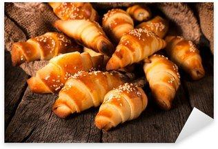 Sticker - Pixerstick Stuffed croissants