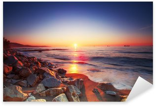 Pixerstick for All Surfaces Sunrise over sea