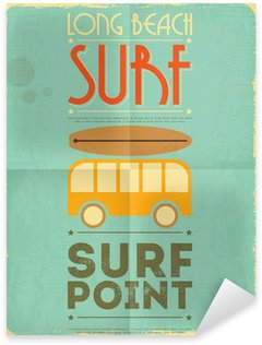 Pixerstick for All Surfaces surfing poster