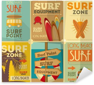 Pixerstick for All Surfaces surfing posters collection