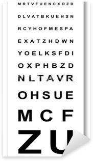 Test d'acuité visuelle Sticker - Pixerstick