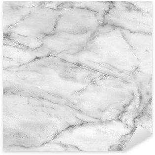 Sticker Pixerstick Texture de marbre blanc (high.res.)