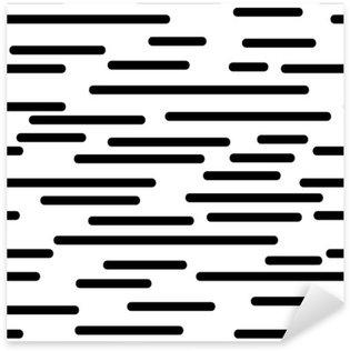 Sticker Pixerstick Texture géométrique avec des lignes lisses