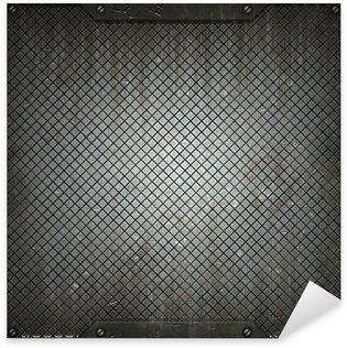 Sticker - Pixerstick texture of metal