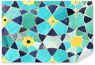 Sticker Pixerstick Texture Oriental