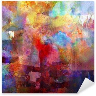 Sticker Pixerstick Textures de peinture