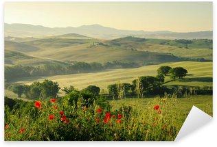 Sticker Pixerstick Toskana Huegel - Tuscany hills 18