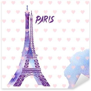 Sticker Pixerstick Tour Eiffel