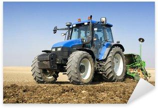 Sticker Pixerstick Tracteur agriculture